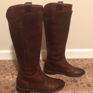 Classic Frye Paige Tall Riding Boots! Cognac